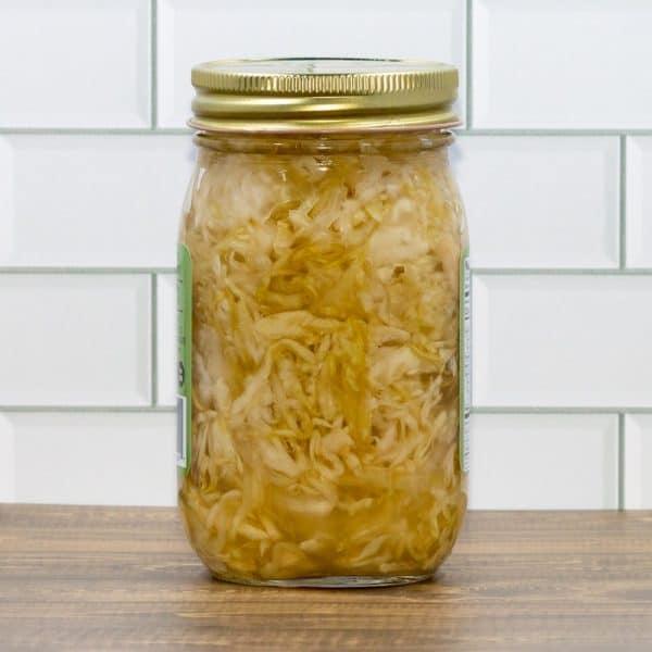 Jar of Simply Sauerkraut by The Kraut Guy