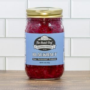 Jar of Blaukraut Sauerkraut by The Kraut Guy